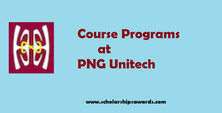 Courses at PNG university of Technology