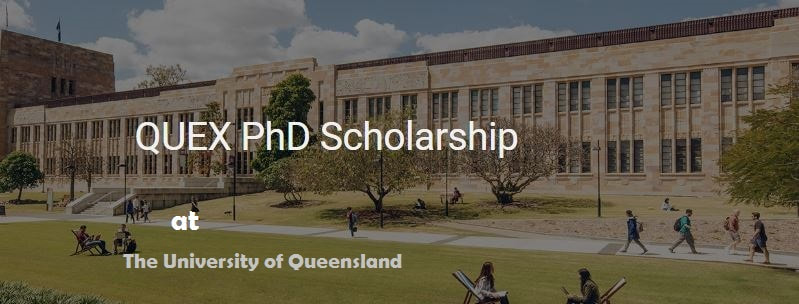 QUEX PhD Scholarship At University Of Queensland